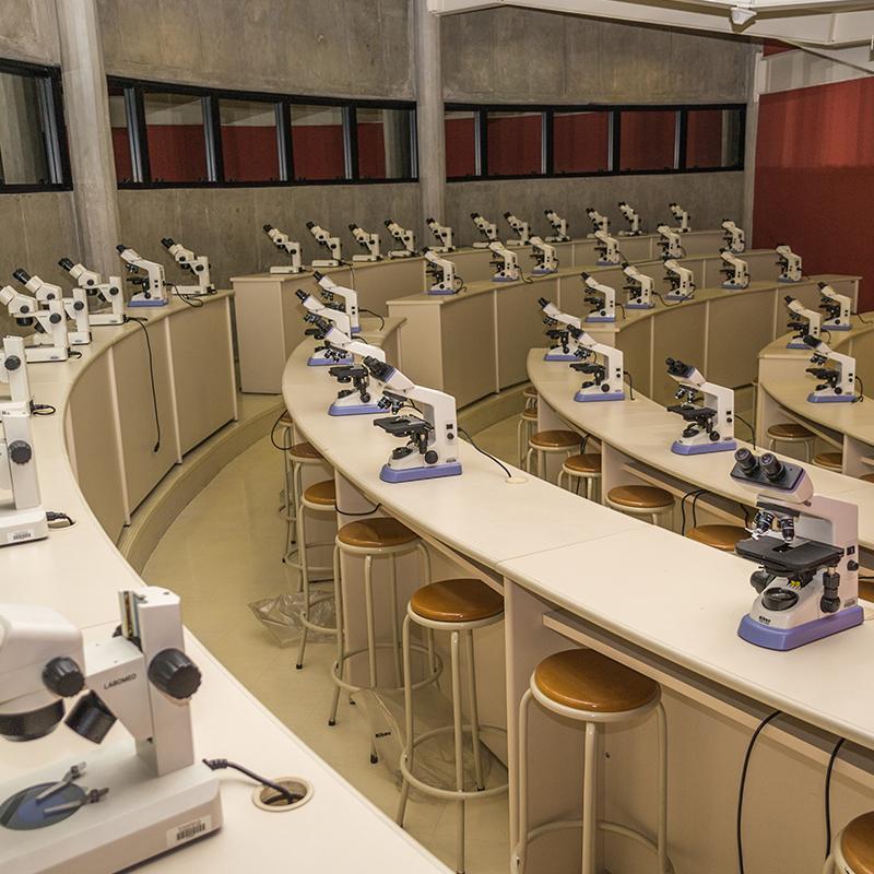 Laboratório do Campus Anália Franco